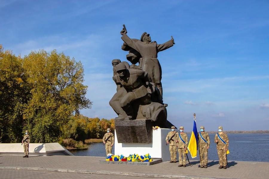 В Днепре отметили 77-летнюю годовщину освобождения города от фашистских захватчиков