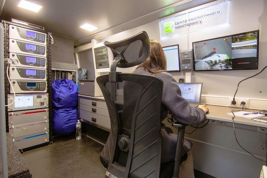 В промышленной зоне Днепра провели мониторинг атмосферного воздуха