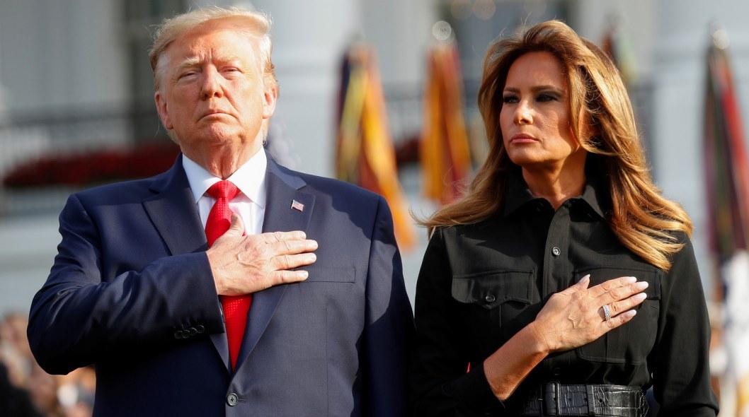 Президент США Дональд Трамп и его жена заболели COVID-19