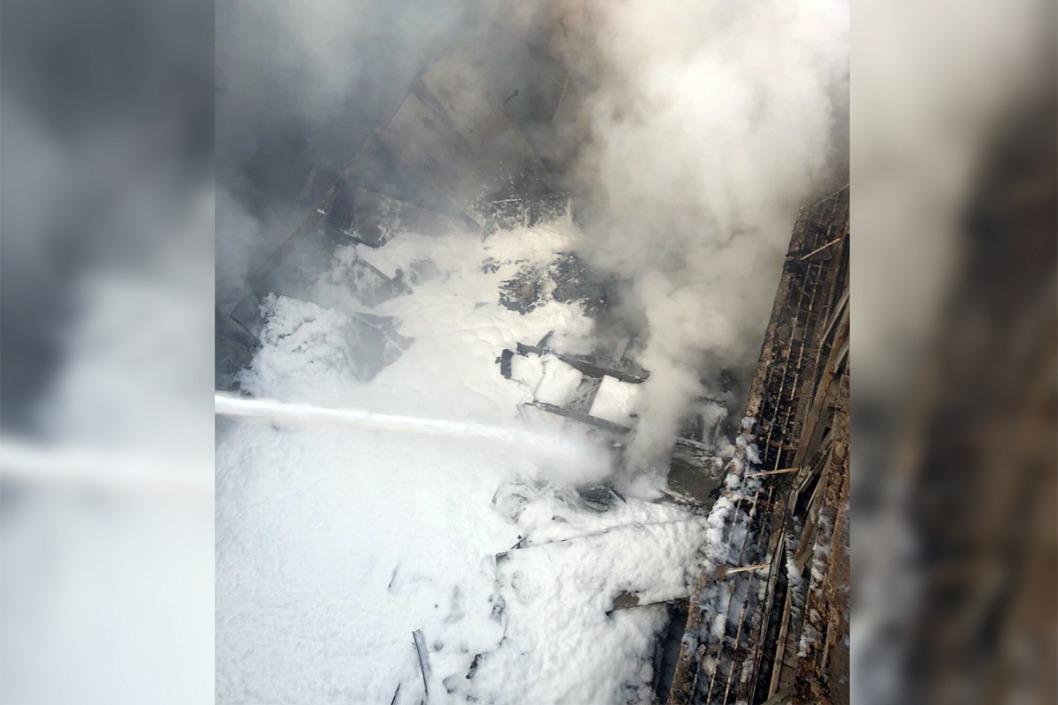 В Кривом Роге за одни сутки дважды горел бывший кинотеатр