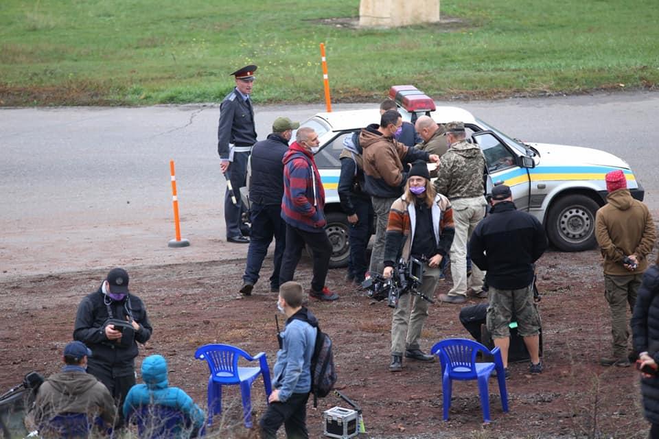 На Днепропетровщине режиссёр Олег Сенцов завершил съемки фильма «Носорог»