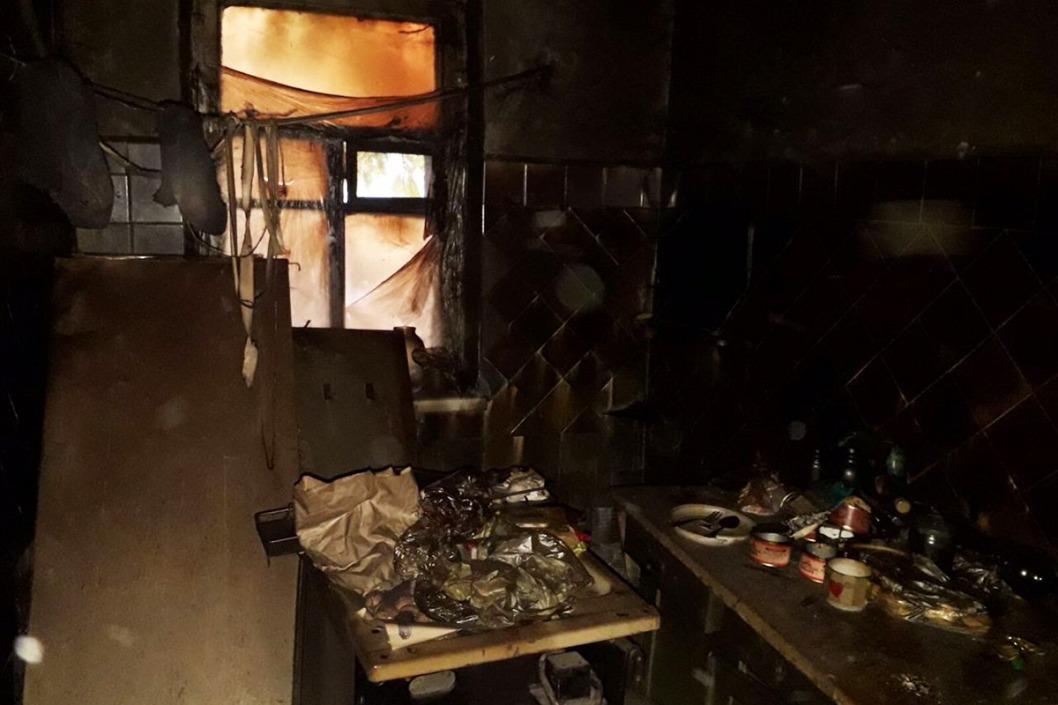 Днепрянин сгорел в собственном доме