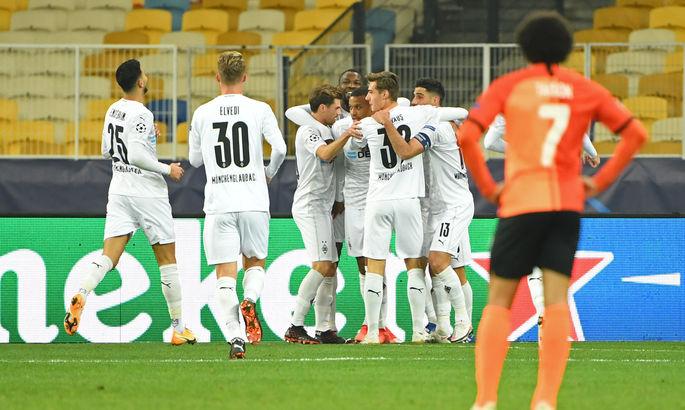 Немецкая Боруссия разгромила Шахтер в 3 туре Лиги чемпионов