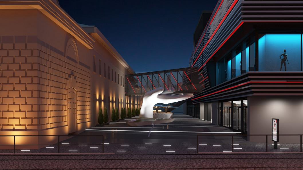 Бизнесмен Ермолаев показал, как будет выглядеть историческое здание суконной фабрики в Днепре
