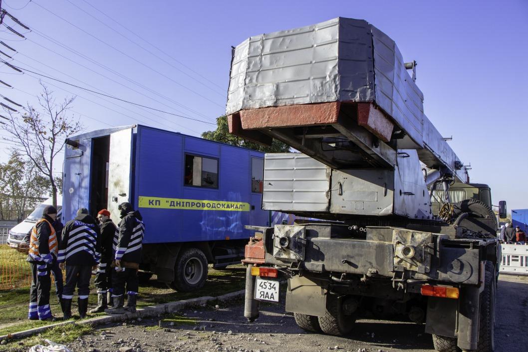 Авария на трубопроводе в Днепре: жителям подвозят техническую воду (АДРЕСА)