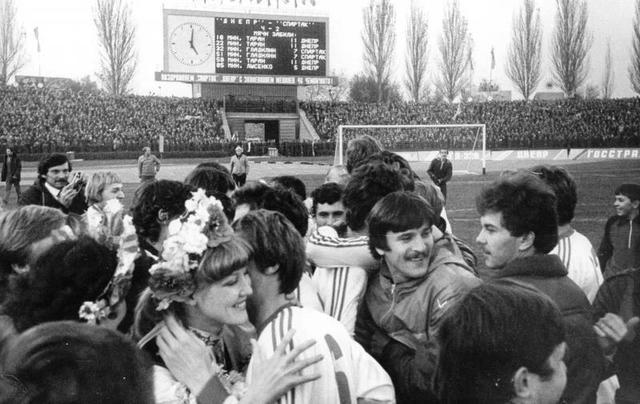 """Золотой матч """"Днепра"""" спустя 37 лет: как клуб впервые стал чемпионом"""