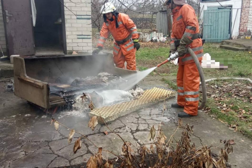 Под Днепром в пожаре погиб 68-летний пенсионер