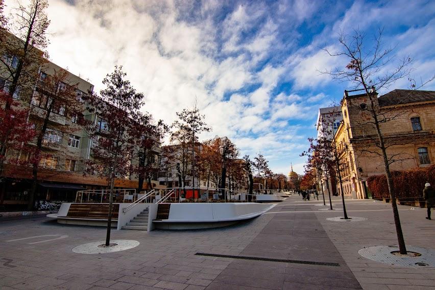 В Днепре завершили масштабную реконструкцию улицы Яворницкого