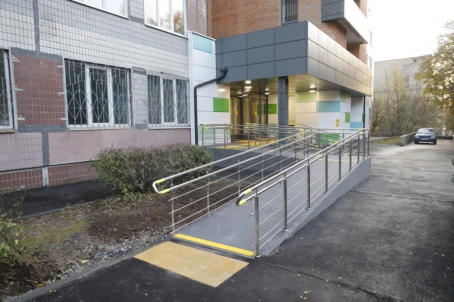 В Днепре завершили реконструкцию городской поликлиники №4