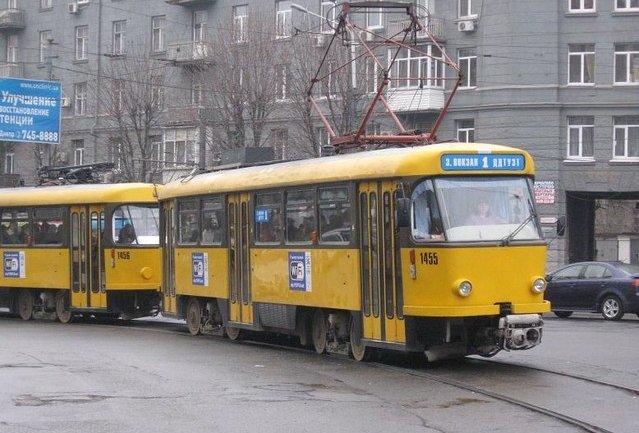 В Днепре трамвай №1 изменит маршрут