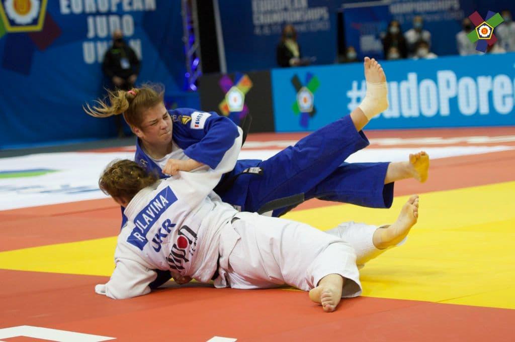 Дзюдоисты Днепра завоевали медали на Чемпионате Европы