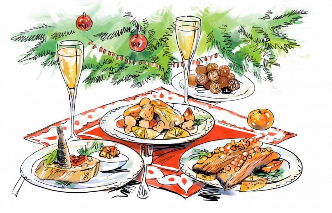 Ничего не испортится: что делать с едой, которая осталась после новогоднего ужина