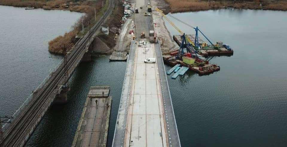 Под Никополем завершили реконструкцию моста через Чертомлык