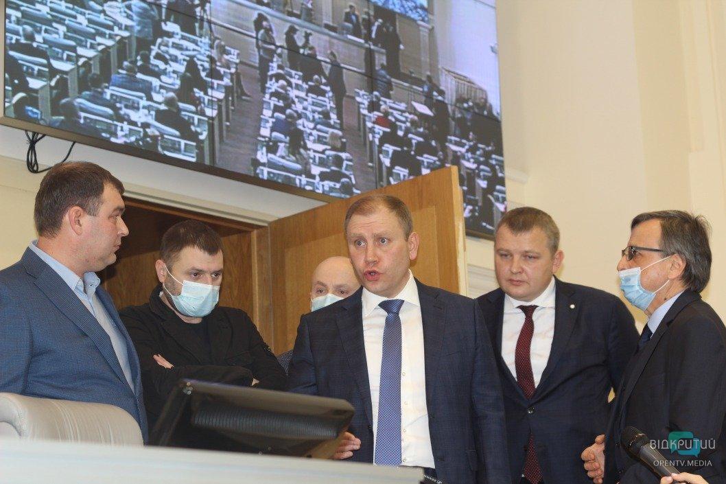 Регламентный локдаун и временный президиум: как в Днепре прошла первая сессия облсовета (ФОТО)