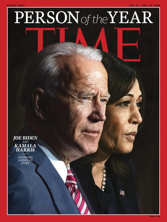 time person of the year joe biden kamala harris 2020 cover
