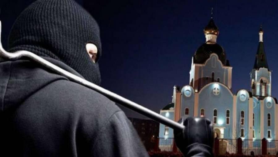 В Днепропетровской области мужчина ограбил храм