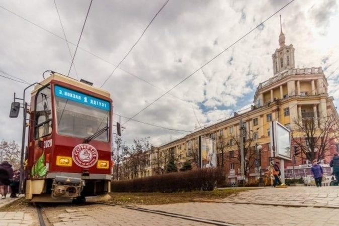 В центре Днепра мужчина ограбил кондуктора трамвая (ВИДЕО)