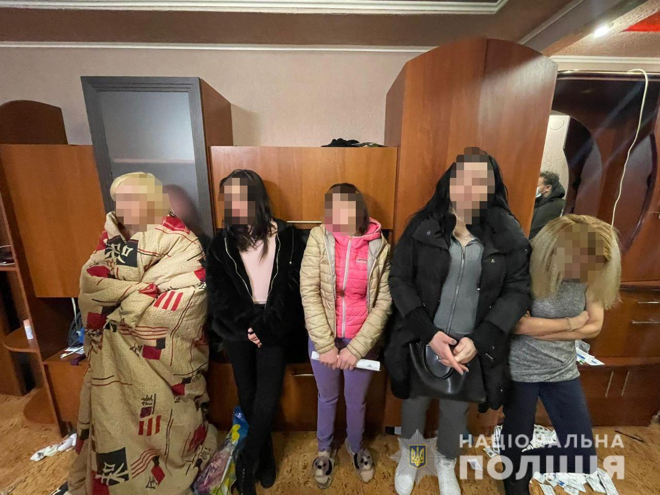 В Кривом Роге полицейские ликвидировали бордель в квартире