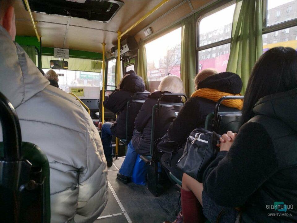 Локдаун в Днепре: как с понедельника будет ходить общественный транспорт