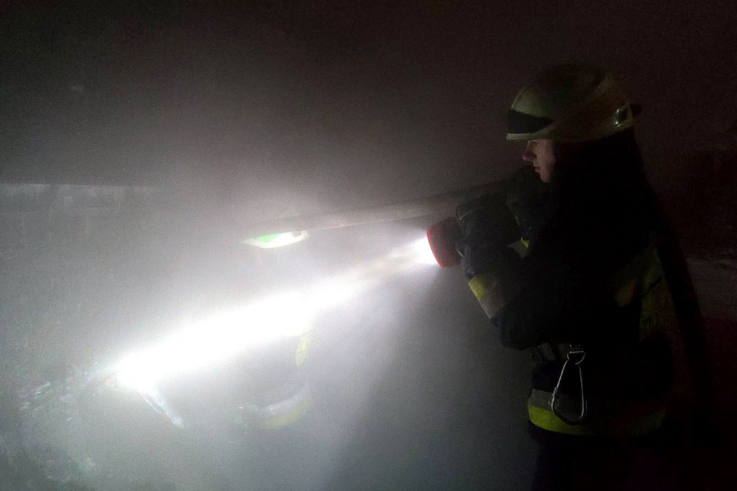 Дым был виден за километр: в Днепре пылала баня