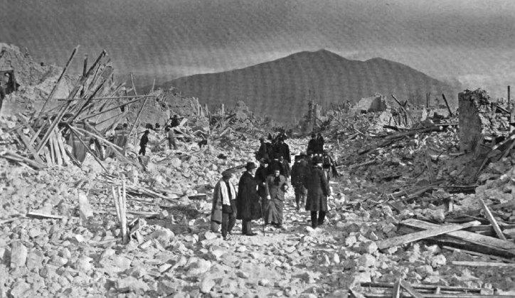Avezzano Earthquake Ruins