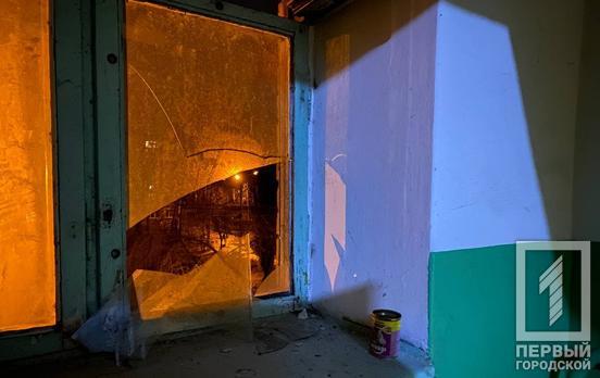 В Кривом Роге в жилом доме прогремел взрыв