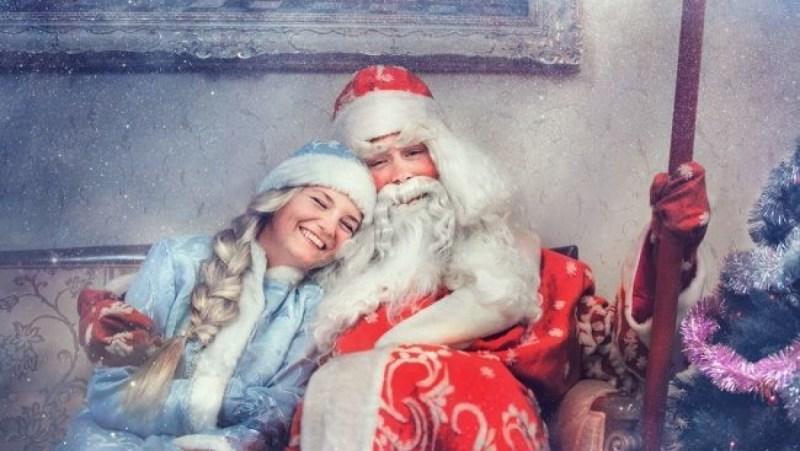 Ded Moroz i Snegurochka