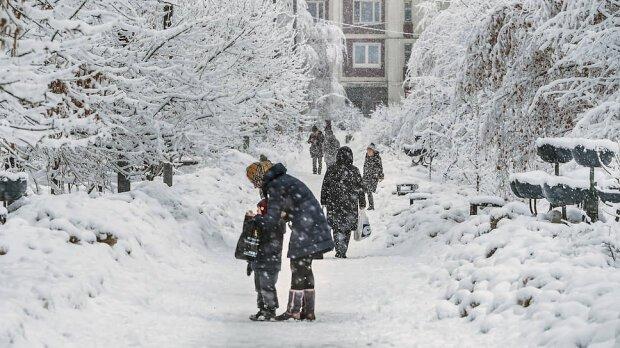 Снег и сильные морозы: в Днепр придёт настоящая зима