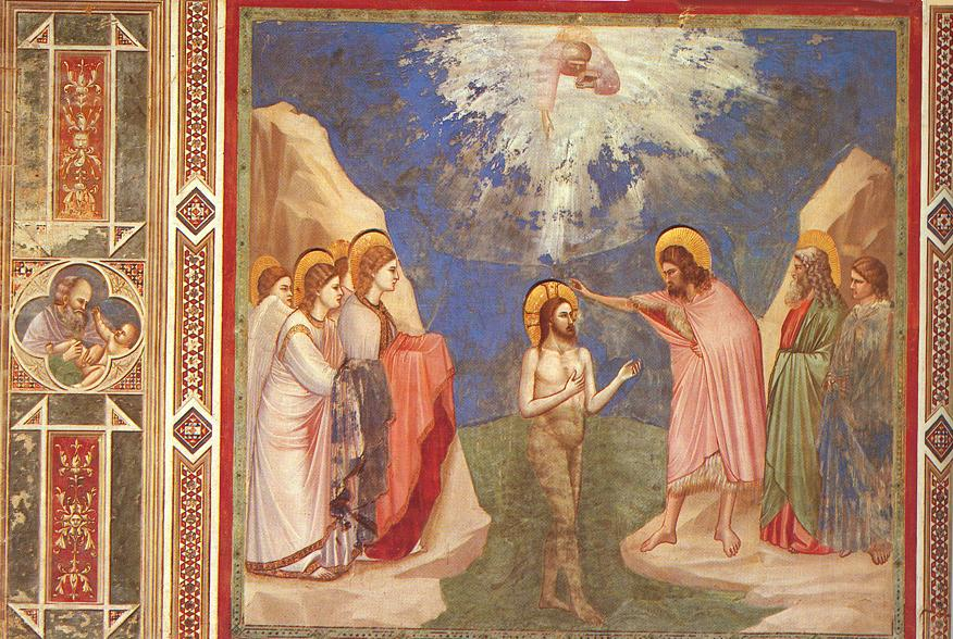 Giotto   Scrovegni    23    Baptism of Christ