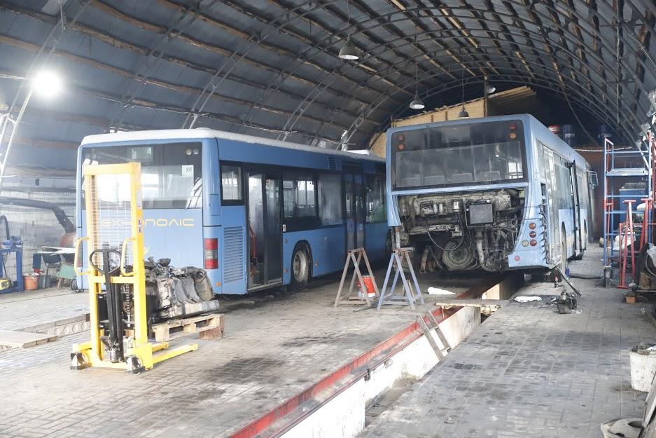 В Днепре общественный транспорт готовят к бесперебойной работе в сильные морозы