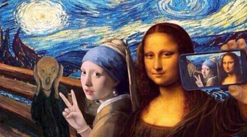 Selfi v muzee1