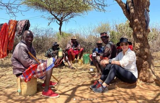 Африка без прикрас: жена мэра Днепра Марина Филатова путешествует по Кении