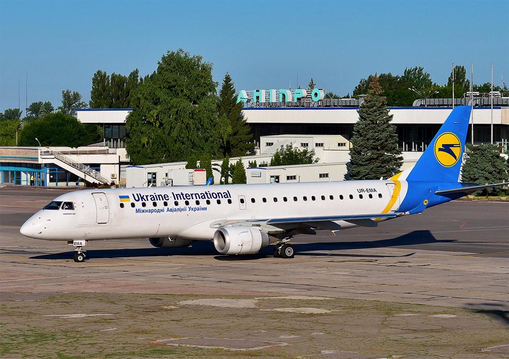 Boing 737 v Dnepre