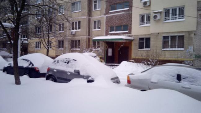 Dnepr v snegu 1