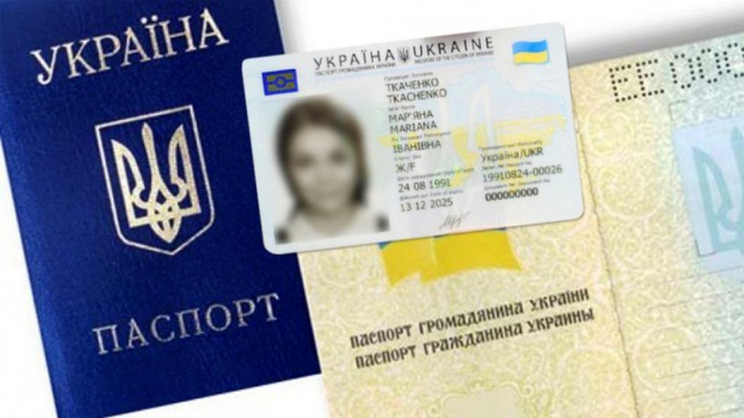 Pasport Ukrainy