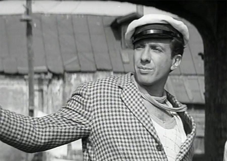 Sergej YUrskij v roli Ostapa Bendera