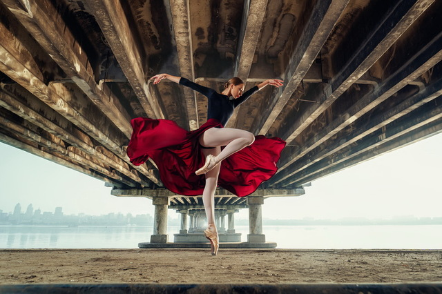 Balerina pod Novym mostom