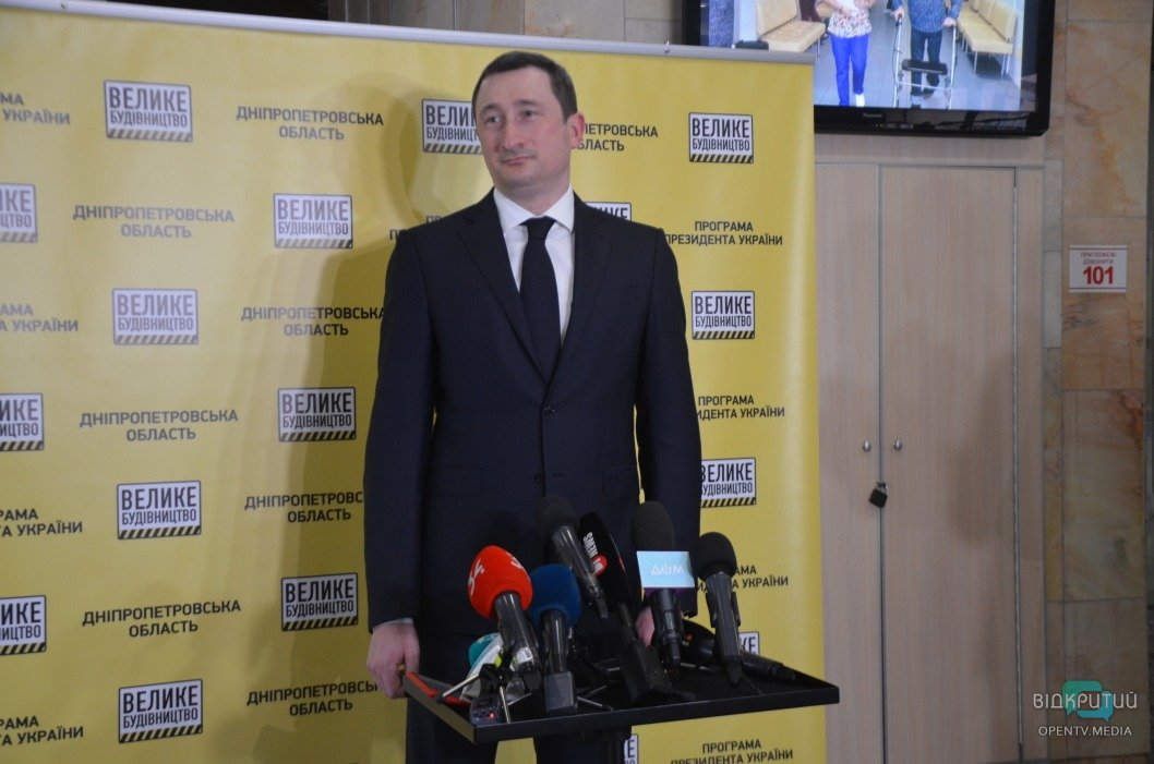 Алексей Чернышов, министр развития общин и территорий Украины