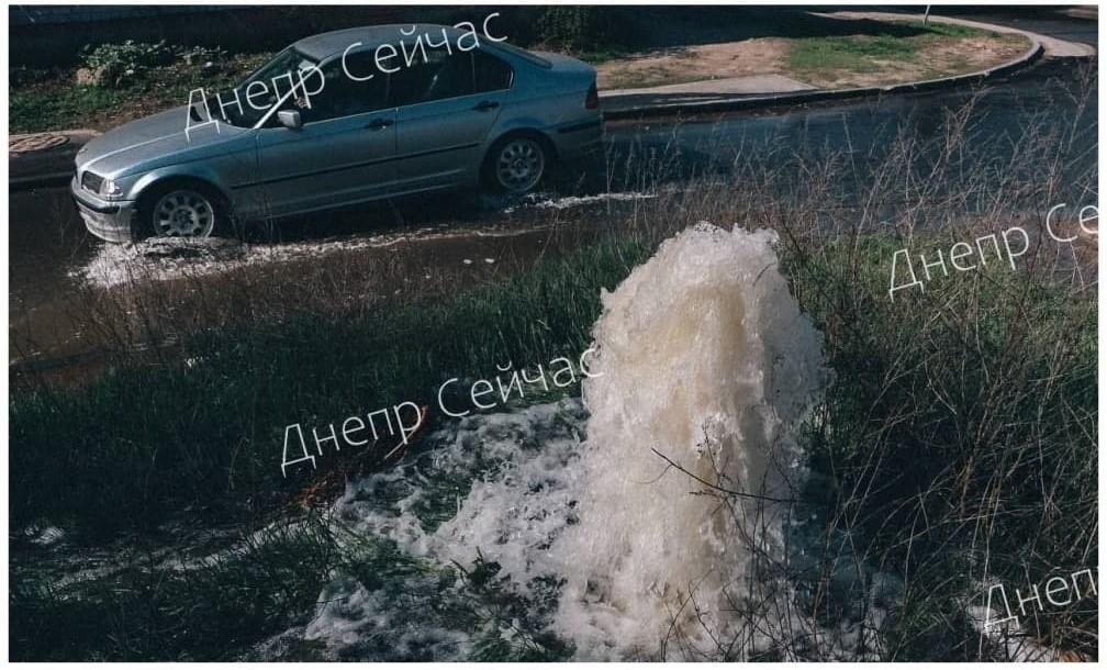 Proryv vody vozle 140 SSH 2