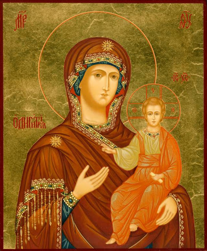 Vizantijskaya ikona Bozhiej Materi