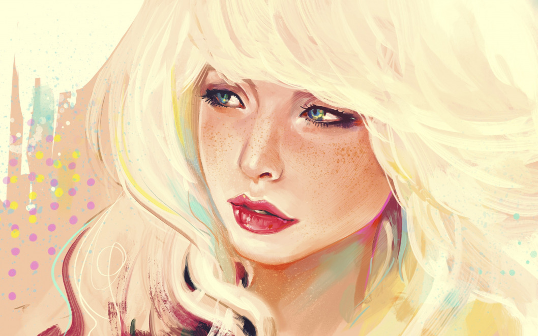 Den blondinok