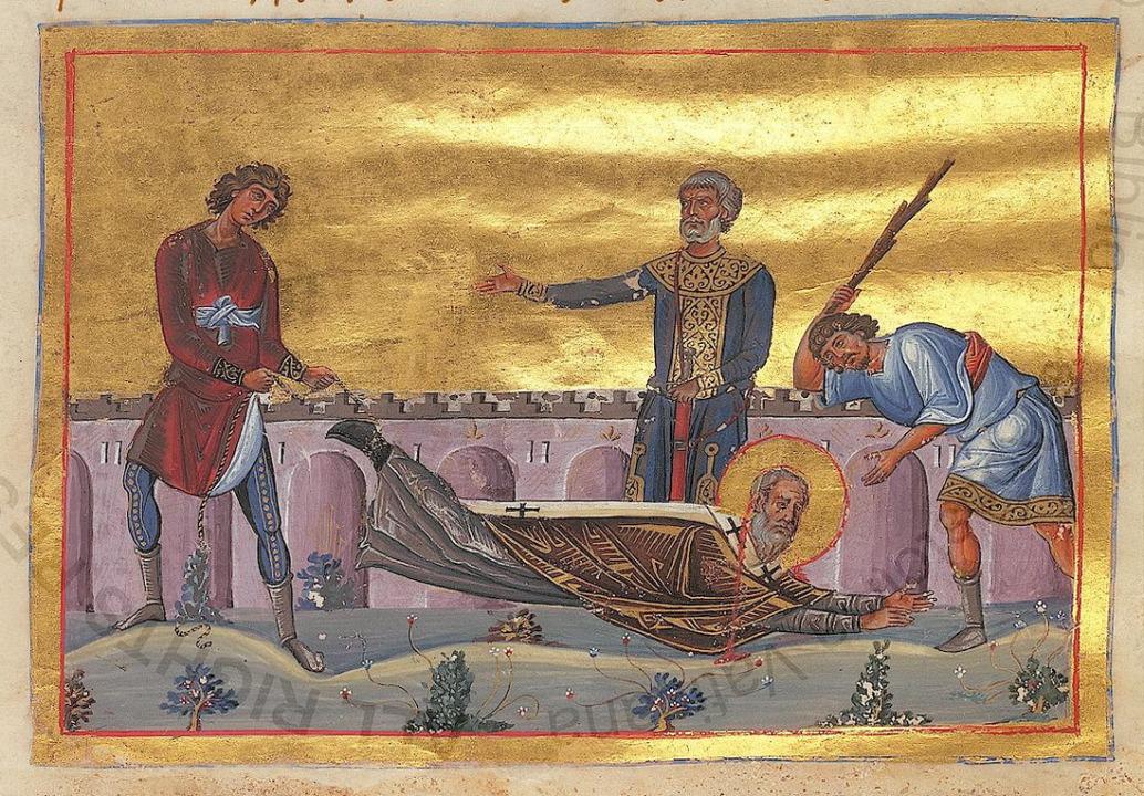 Dorotheus of Tyre Menologion of Basil II