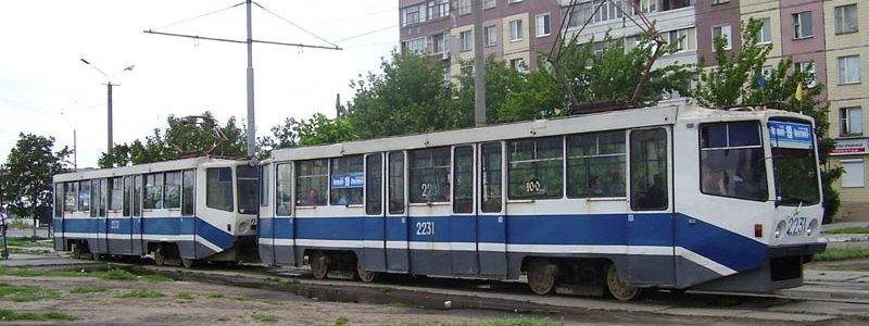 Tramvaj v dozhd 2