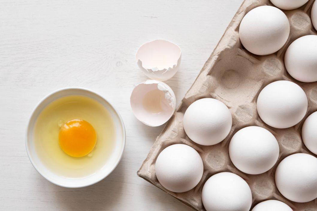 jajka dieta przeciwgrzybicza